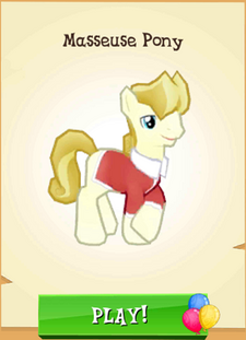 Masseuse Pony Store Unlocked