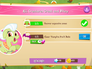 All Creatures Great and Bitey tasks