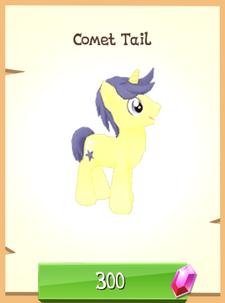 Comet Tail unlocked