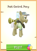 Pest Control Pony unlocked