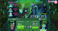 Queen Chrysalis battle