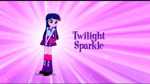 TWILIGHT SPARKLE en Chicas de Equestria - Equestria Girls - Mi Pequeño Poni La Magia de la Amistad