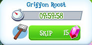 Griffon roost built time
