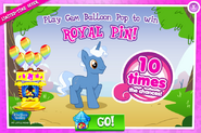 10x chances - Royal Pin