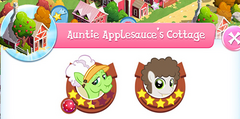Aunt Applesauce's Cottage residents