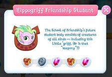 Hippogriff Friendship Student info