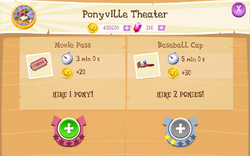Ponyville Theater Products