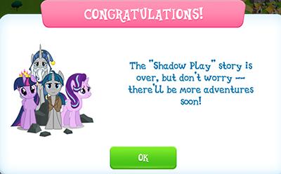 Shadow play ending
