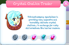 Crystal Chalice Trader album description
