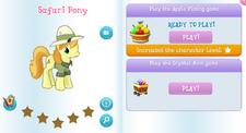 Safari pony album