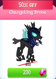 Changeling drone store