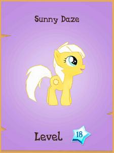Sunny Daze locked