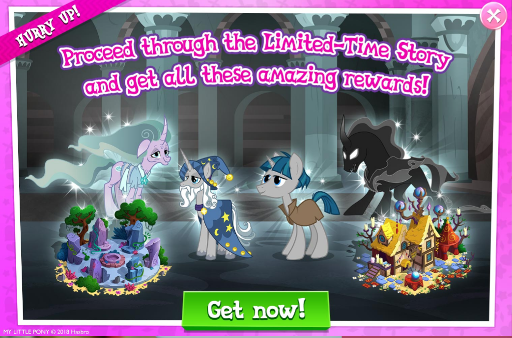 Shadow Play The My Little Pony Gameloft Wiki Fandom Powered By Wikia