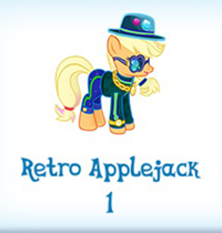 Retro applejack inventory