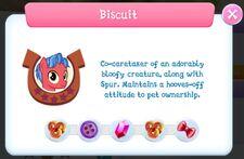 Biscuit description