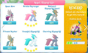 Regal Hippogriffs