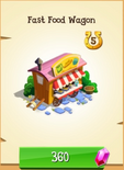 Fast Food Wagon Store Unlocked