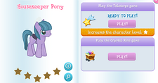 Housekeeper pony album