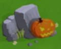 Small halloween rock