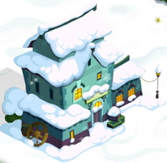 Curio Shop in Snow