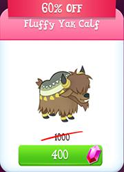 Fluffy Yak Calf Store Unlocked