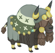 Decorated Yak Character Image