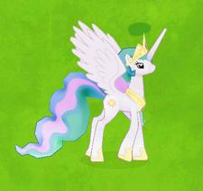 Princess Celestia Character