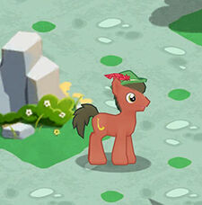 Sousaphonist pony