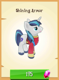 Shining Armor unlocked
