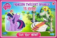Princess Twilight Sparkle promo