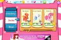 Big McIntosh, Princess Celestia, Pinkie Pie 1.0 shop.png