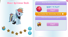 Mean rainbow dash album