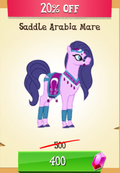 Saddle Arabia Mare MLP Gameloft