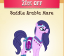 Saddle Arabia Mare