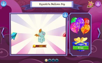 Equestria Balloon Pop