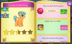 Orange Crystal Pony album