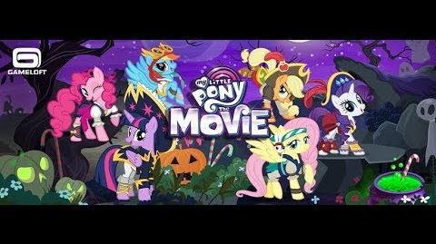 FREE DECORATION - NOVEMBER 2017 - My Little Pony Friendship is Magic - GAMELOFT Noviembre Decorado