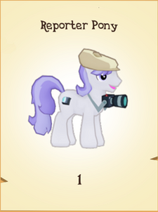 Reporter Pony Inventory