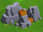 Large halloween rock