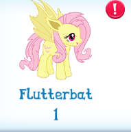 Flutterbat in an inventory