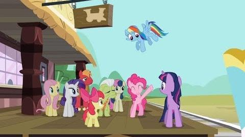 Twilight Sparkle, Big Macintosh y Bon Bon en la Vagoneta GAMELOFT My Little Pony Friendship is Magic