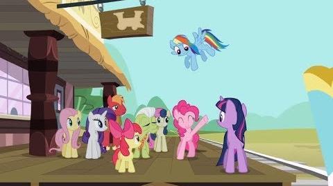 Twilight Sparkle, Big Macintosh y Bon Bon en la Vagoneta GAMELOFT My Little Pony Friendship is Magic