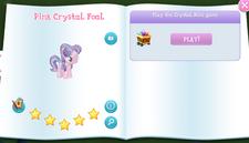 Pink Crystal Foal album