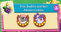 Prim Hemline and Suri Polomare's Home residents