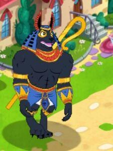 KingAnubis character