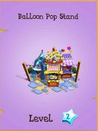 Balloon Pop Stand Store Locked