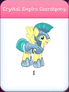Crystal Empire Guardspony Inventory