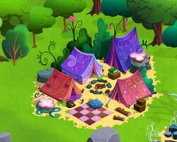 Friendship campsite