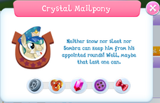 Crystal Mailpony Album Description