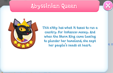 Abyssinian Queen Album Description